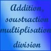 Excel - addition, soustraction, multiplication, division