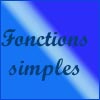 Excel - fonctions simples