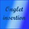 Excel - onglet insertion